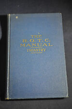 1936 The ROTC Manual Infantry, First Year Advanced, Machine Guns, Howitzers &&