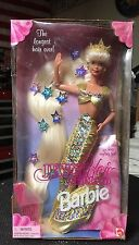 Vintage 1995 Mattel Jewel Hair Mermaid Barbie LONGEST HAIR EVER - NRFB