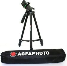"Fluid Head 50"" Tripod AGFAPHOTO With Case For Samsung WB2100 DV150F ST72 ST150F"