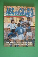 ABC DEL CALCIO CAMPIONATO 1988/1989 TUTTE LE SQUADRE SERIE A-B-C ALMANACCO