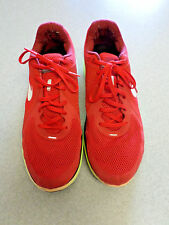 """Nike """"Lunar Swift"""" Red and Yellow, Running Shoes. Men's 14 (eur 48.5)"""