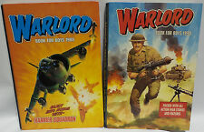 VINTAGE BOOKS : WARLORD ANNUALS FOR 1988 & 1990. BOOK FOR BOYS (PJ)