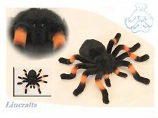 Orange kneed Tarantula juguete suave felpa Spider de Hansa 6558