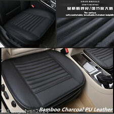 Bamboo charcoal PU Leather Car Seat Full Surround Cover Breathable Cushion Pad