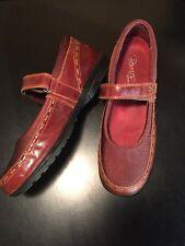 Aetrex Berries mary jane style woman's 9.5 M brown BE38W