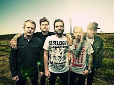 A3 SIZE - A DAY TO REMEMBER Rock Band Poster Print Art