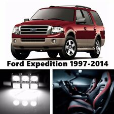 16pcs LED Xenon White Light Interior Package Kit for Ford Expedition 1997-2015