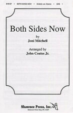 Joni Mitchell Both Sides Now SAB Vocal Choral Learn Sing Play Piano Music Book