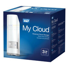 Western Digital My Cloud 3 TB de almacenamiento personal nas home/office unidad de red