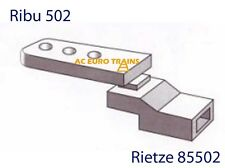 Kupplung/Coupler Adapter NEM 362 Pocket Ribu 502 Rietze 85502  In Stock
