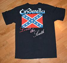 RaRe *1989 CINDERELLA* vtg rock concert tour t-shirt (M/L) 80s Glam Metal