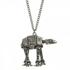 STUNNING OFFICIAL STAR WARS AT-AT WALKER PENDANT ON CHAIN NECKLACE *NEW*