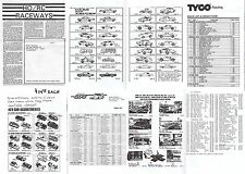 "24 Page 5x8"" B/W HO RC RACEWAY Vintage Slot Car AFX TYCO Catalog Cool Reference!"