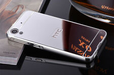 Aluminum Metal Frame Mirror Back Cover Slim Case For HTC Desire 820 826 626 S001
