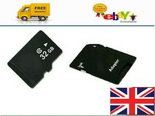 32GB Memory Card Class 10 FREE ADAPTER. SMARTPHONES, TABLETS, UNIVERSAL SD CARD