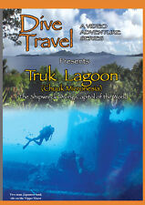 Dive Travel Truk Lagoon Ship Wrecks (known as Chuuck Micronesia) - Travel DVD