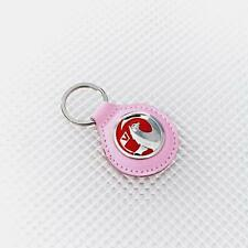 Vauxhall Pink Leather Keyring Official Licensed Product Richbrook Corsa Astra