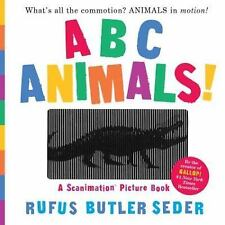 ABC Animals!: a Scanimation Picture Book by Rufus Butler Seder (2016, Hardcover)