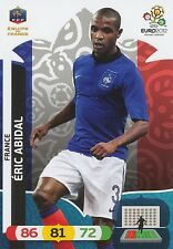 ERIC ABIDAL # FRANCE CARD PANINI ADRENALYN EURO 2012