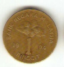 Offer Malaysia Kris $1  coin  1994   very nice!