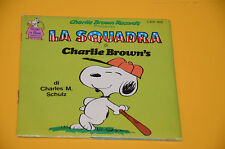 """CHARLIE BROWN 7"""" 45 LA SQUADRA ORIG 1979 DISCO+LIBRO 24 pg SIGILLATO !"""