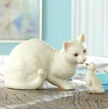 Lenox New Friends Cat and Duck 2 piece Figurine NEW IN BOX $84