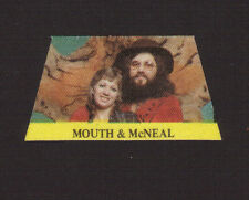 Mouth & McNeal 1970s Pop Rock Music Cloth Sticker A