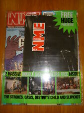 NME 2001 OCT 13 STROKES OASIS DESTINY'S CHILD SLIPKNOT