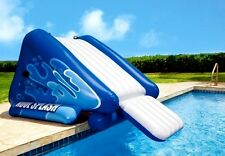 Inflatable Water Slide Swimming Pool Commercial Bounce Yard Garden /w HEAVY DUTY