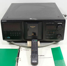 SONY CDP-CX455 400 Disc Mega Storage CD Player Disc Changer With Remote