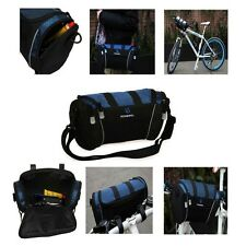 New ROSWHEEL Handlebar Bag Bike Baskets Front Frame Bicycle Cycling Pack Pannier