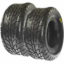 Pair of SunF 25x10-12 25x10x12 Road Go ATV UTV Tire 6 Ply A021