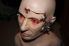 Full Size Mannequin Fibreglass Head Steampunk Film Movie Borg Prop Puppet
