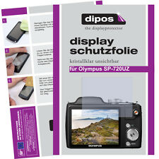 2x Olympus SP-720 UZ screen protector protection guard crystal clear