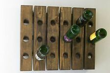 Wine Riddling Rack Wall Hanging Wine Rack Handmade