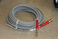 50' Hot Water Pressure Washer Hose with Quick Connects 6000 PSI 3/8""