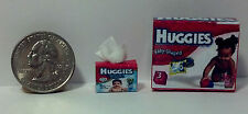 Dollhouse Miniature Baby Diapers Box & Wipes 1:12 scale H67 H68 Dollys Gallery