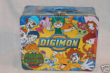 "NEW DIGIMON TIN LUNCHBOX TIN CASE SURPRISE GRAPHICS 3""x6""x7-1/2"""