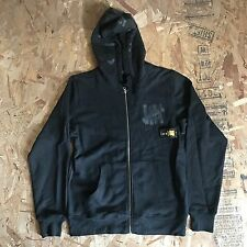 UNDEFEATED UNDFTD SHEMAGH BLACK ZIP UP HOODIE SIZE XL NEW WITH TAG