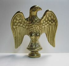 Lamp Finial-Solid Cast Brass EAGLE-Nicely Detailed and Heavy