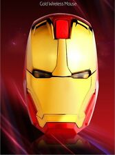 Iron Man Wireless Mouse Gaming Mouse 2400DPI 3Steps DPI 4Buttons BOSSWIZ An-9021