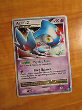 PL Pokemon AZELF LV.X Card LEGENDS AWAKENED Set 140/146 Diamond and Pearl DP TCG