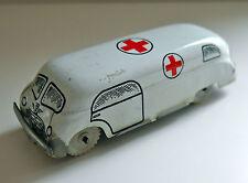 VINTAGE MARCHESINI bo-408 BANDA STAGNATA Ambulanza C. anni 1950 TOY RARE BOLOGNA ITALIA