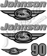 JOHNSON - 90hp - DECAL KIT - OUTBOARD DECALS