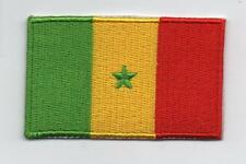 Embroidered SENEGAL Flag Iron on Sew on Patch Badge HIGH QUALITY APPLIQUE
