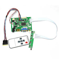 "HDMI+VGA+AV LCD Controller Board For 15.6"" B156XW02 LP156WH2 1366x768 W/Remote"