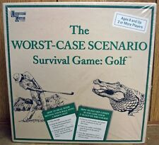 NIB Factory Sealed The Worst-Case Scenario Survival Game:Golf Boys & Girls 8 up