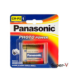 Panasonic CR-P2 6 Volt Photo Lithium Battery (1 Battery)