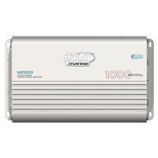 Boss Audio MR1000 Marine Power Amplifier 4-Channel 1000W Amp MOSFET Bridgeable