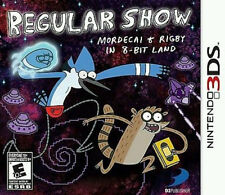 Regular Show: Mordecai & Rigby in 8-Bit Land USED SEALED (Nintendo 3DS, 2013)